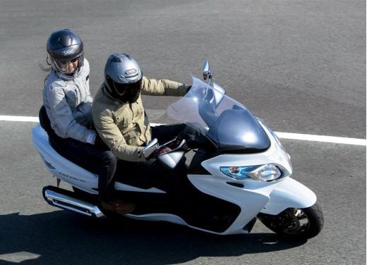 Suzuki Burgman 400: 2 anni di tranquillità in più