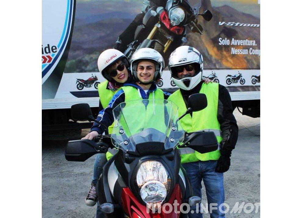 Suzuki, continuano i Demo Ride Tour dal Piemonte alla Sicilia - Foto 2 di 11