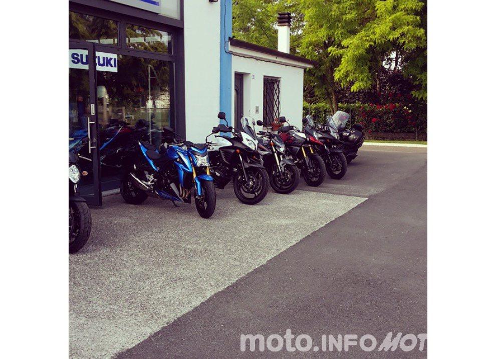 Suzuki, continuano i Demo Ride Tour dal Piemonte alla Sicilia - Foto 4 di 11