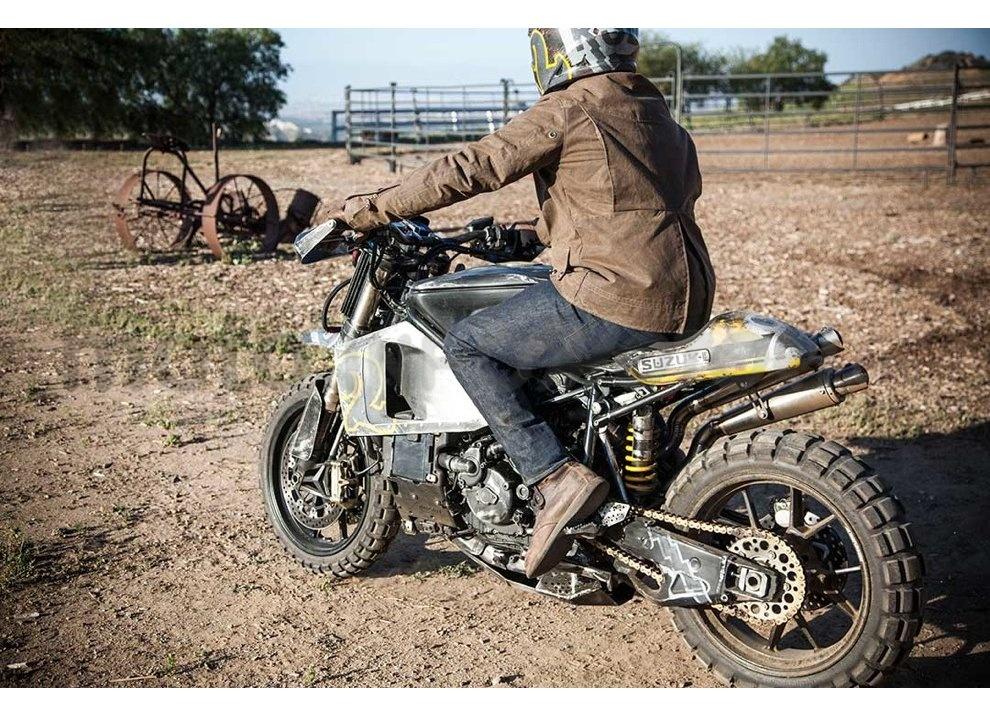 Ducati e Suzuki in un'unica moto: è la SuzuCati di Roland Sands - Foto 13 di 31