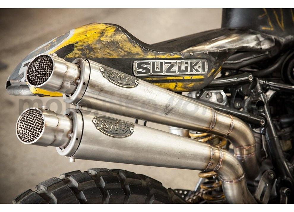 Ducati e Suzuki in un'unica moto: è la SuzuCati di Roland Sands - Foto 6 di 31