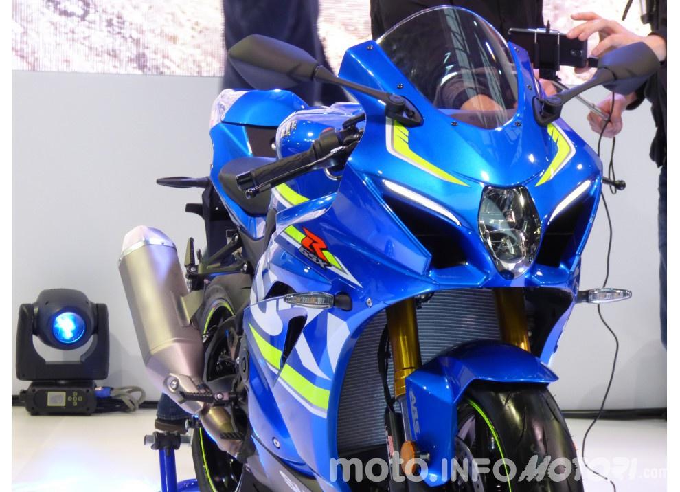 Suzuki GSX-R 1000 Concept ad EICMA 2015