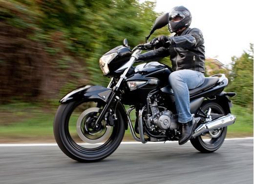 Suzuki Inazuma 250 in promozione a 3.490 euro