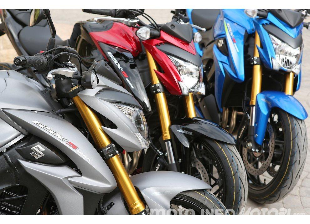 Suzuki: promozioni e sconti sulla gamma moto e scooter 2015 - Foto 9 di 13