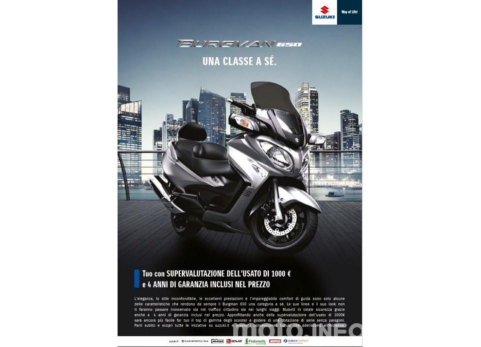 Suzuki, promozioni su moto e scooter fino a fine anno - Foto 6 di 8