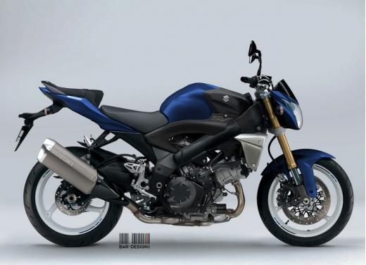 Suzuki SV1000: potrebbe rinascere così - Foto 5 di 7