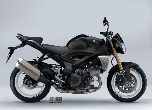 Suzuki SV1000: potrebbe rinascere così - Foto 3 di 7
