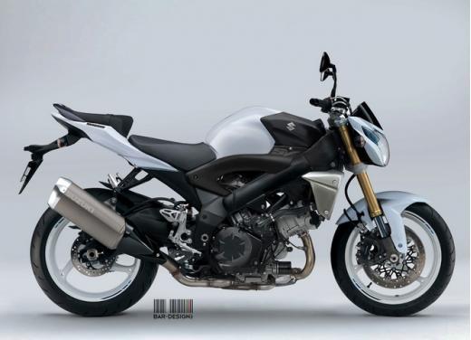 Suzuki SV1000: potrebbe rinascere così - Foto 1 di 7