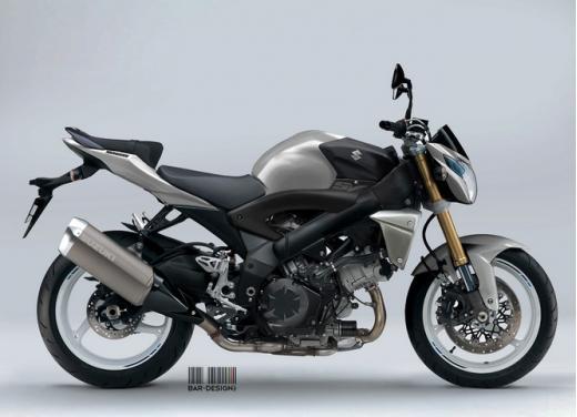 Suzuki SV1000: potrebbe rinascere così - Foto 4 di 7