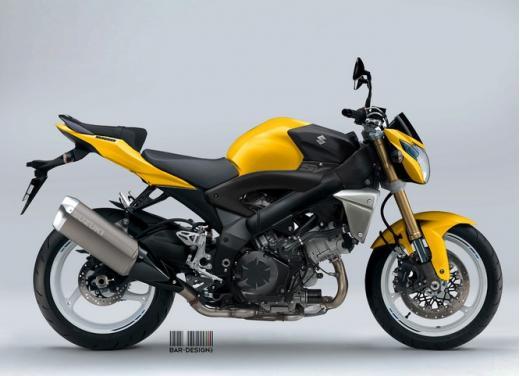 Suzuki SV1000: potrebbe rinascere così - Foto 7 di 7