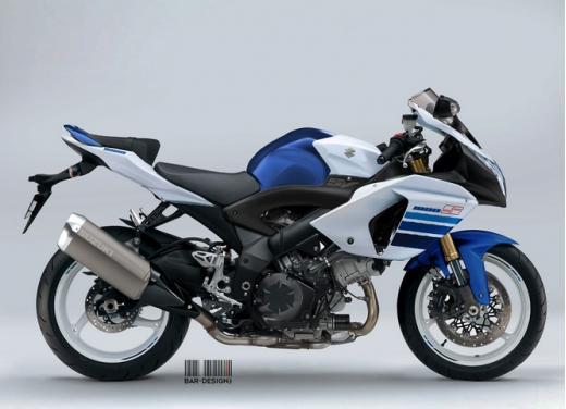 Suzuki SV1000: potrebbe rinascere così - Foto 2 di 7