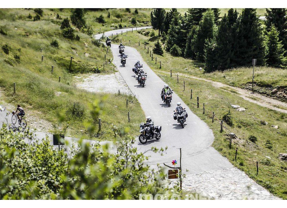 Suzuki V-Strom Tour anche al 39° Motoraduno dello Stelvio International