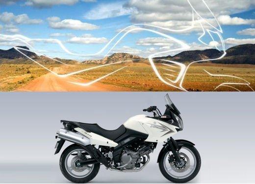 Nuova Suzuki V-Strom 650: teaser della adventure bike - Foto 5 di 5