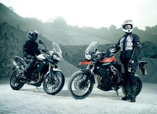 Triumph Tiger, la famiglia adventure bike della casa inglese - Foto 23 di 32