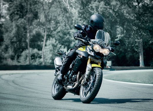 Triumph Tiger, la famiglia adventure bike della casa inglese - Foto 10 di 32