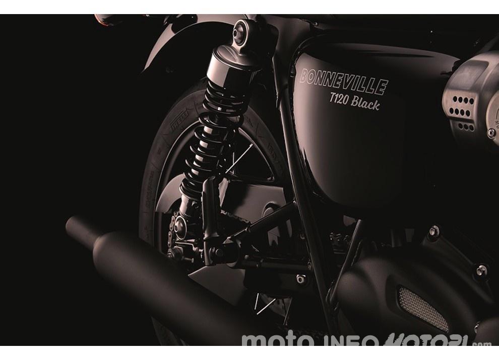 Triumph Bonneville T120 E T120 Black 2016 La Classic Più