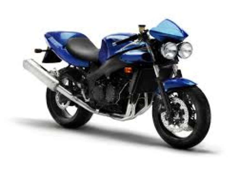 Triumph Speed Four - Foto 2 di 7