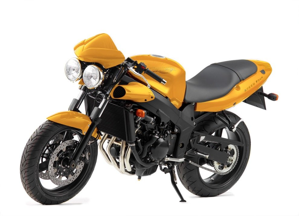 Triumph Speed Four - Foto 5 di 7