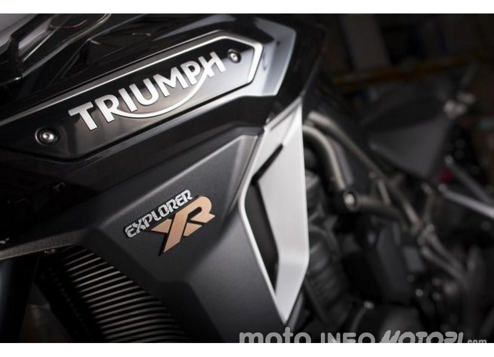 Triumph Tiger Explorer 2016: ora sono sei - Foto 3 di 12