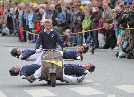 Vespa World Days 2011: in Norvegia a migliaia per festeggiare i 65 anni di Vespa - Foto 9 di 20