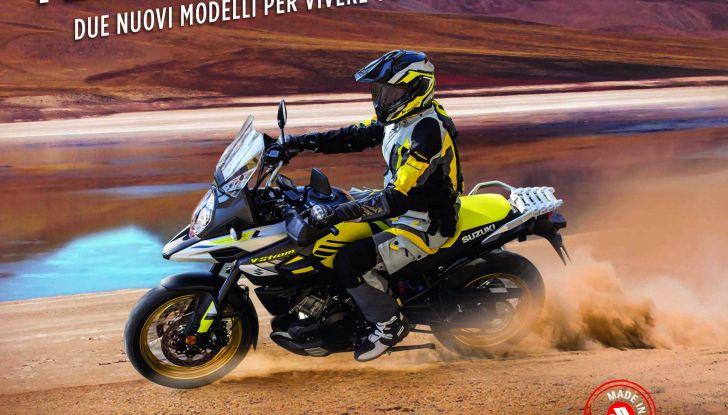 Novità Suzuki 2018: V-Strom 1000 Feel More e Globe Rider - Foto 2 di 8