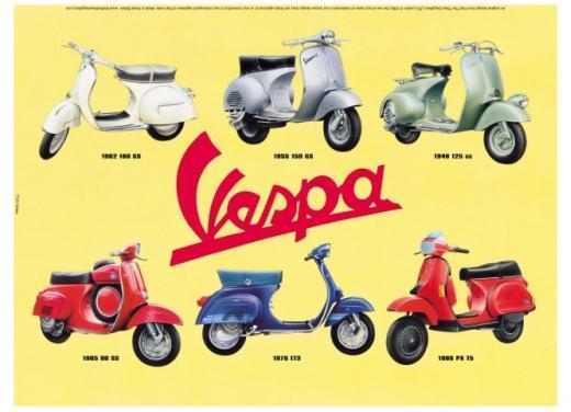 La Vespa diventa una moneta da collezione - Foto 2 di 8