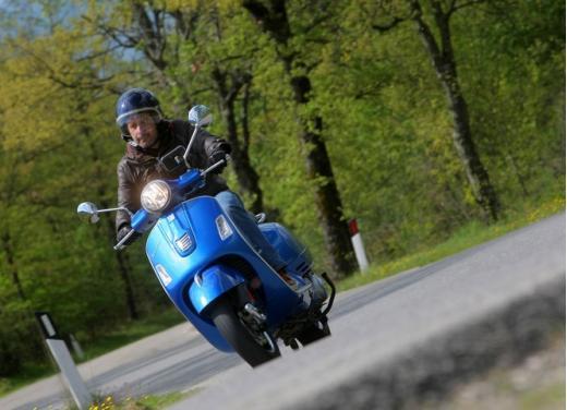 Vespa GTS 300 test ride