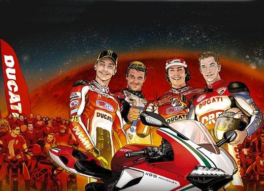 World Ducati Week 2012: Ducati Diavel Carbon in palio - Foto 2 di 14