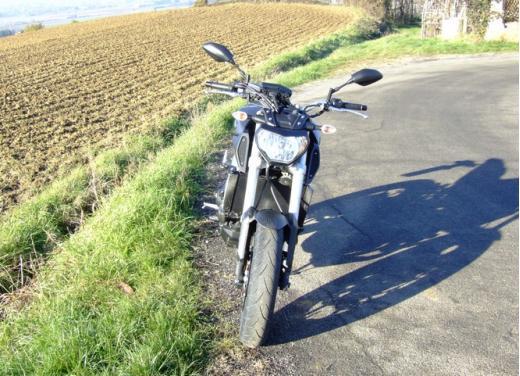 Yamaha MT-09 prova su strada - Foto 17 di 52