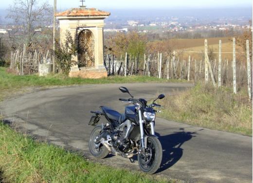 Yamaha MT-09 prova su strada - Foto 31 di 52