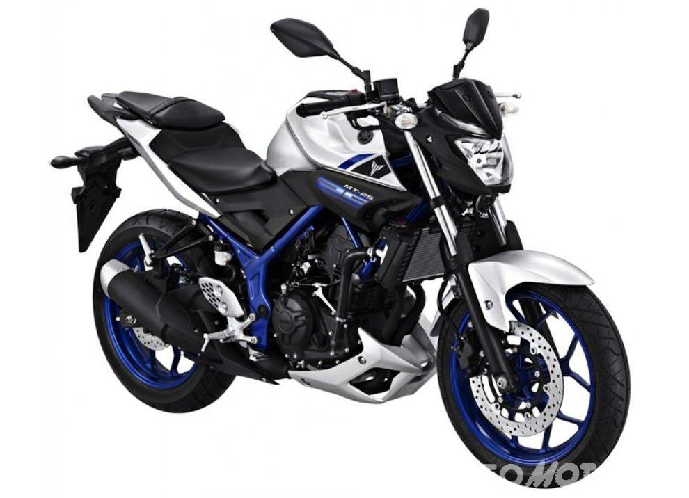 Yamaha MT-25, a.k.a. MT-03 2016