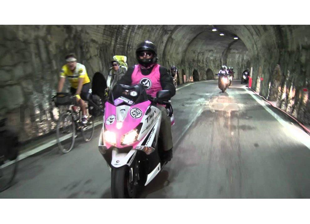 Yamaha TMAX è la moto ufficiale del Giro d'Italia 2015