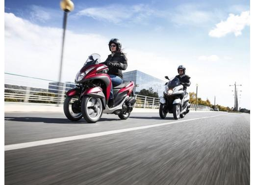 Yamaha Tricity, lo scooter tre ruote Yamaha arriva in estate