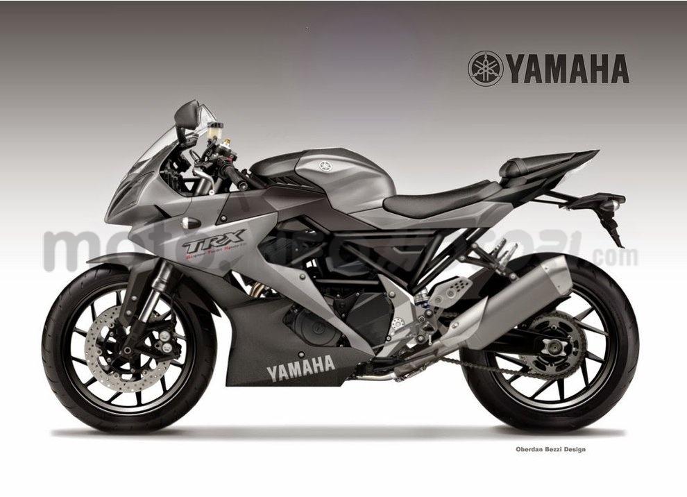 Yamaha TRX 900 STS: La Supersportiva by Oberdan Bezzi