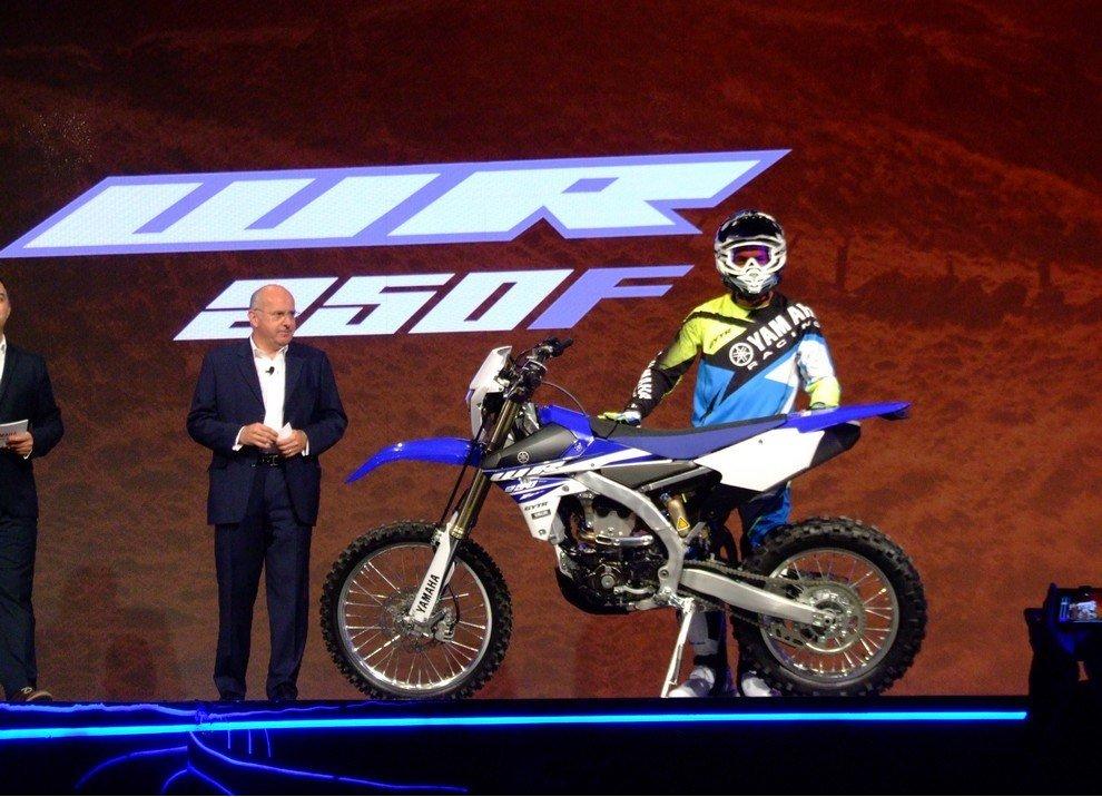 Yamaha WR250F, informazioni ufficiali