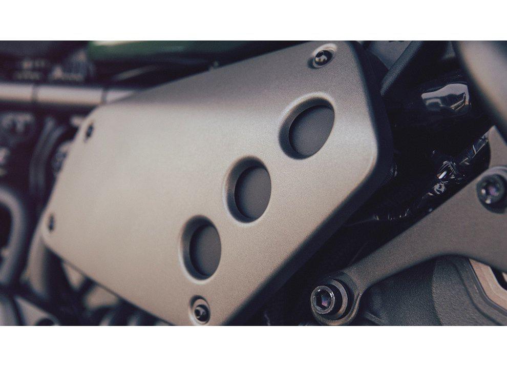 Yamaha XSR700 2016, I tre diapason sfidano Ducati - Foto 5 di 36