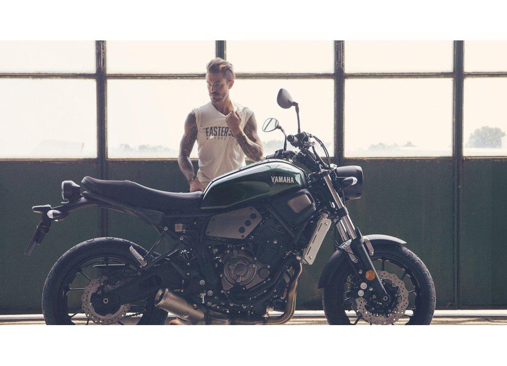 Yamaha XSR700 2016, I tre diapason sfidano Ducati - Foto 18 di 36