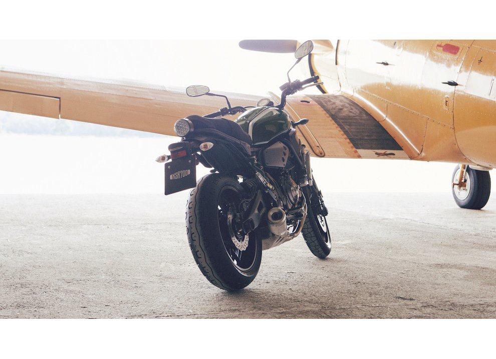Yamaha XSR700 2016, I tre diapason sfidano Ducati - Foto 28 di 36
