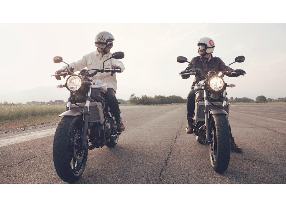 Yamaha XSR700 2016, I tre diapason sfidano Ducati - Foto 30 di 36