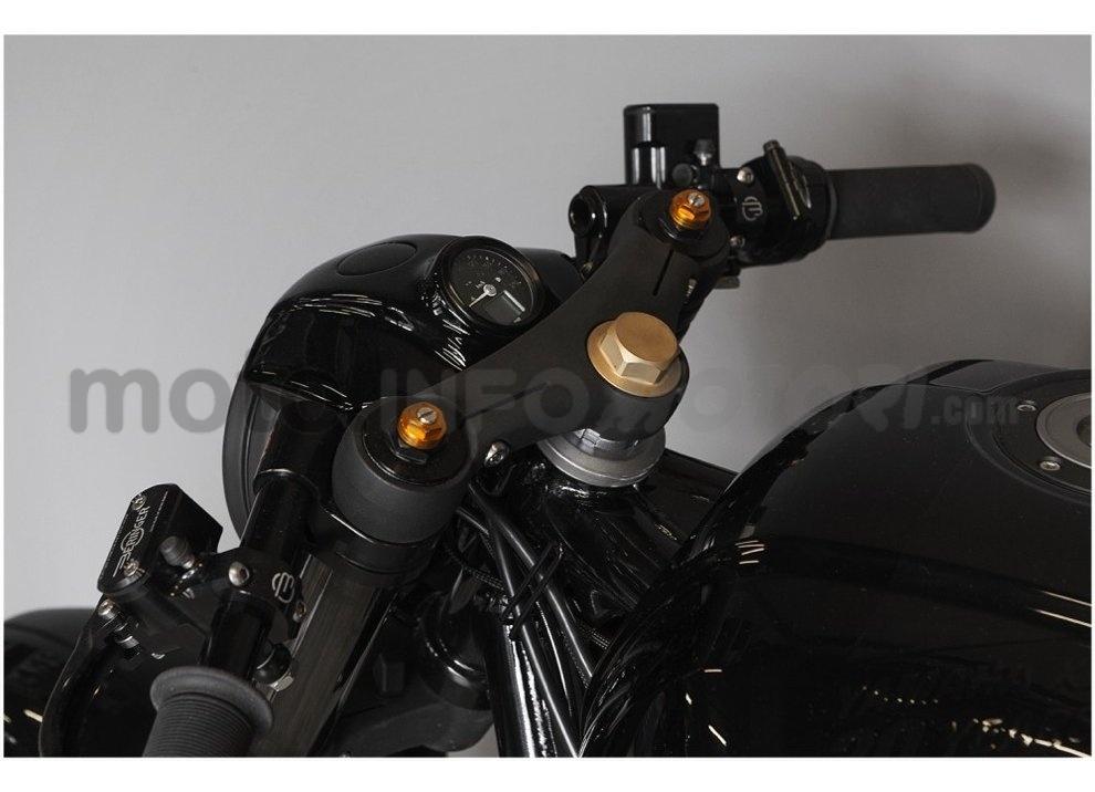 Yamaha Yard Built XJR 1300 Skullmonkee by Wrenchmokees - Foto 11 di 20