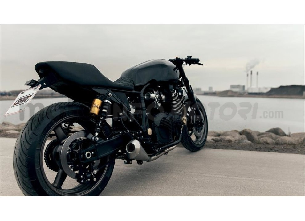 Yamaha Yard Built XJR 1300 Skullmonkee by Wrenchmokees - Foto 17 di 20