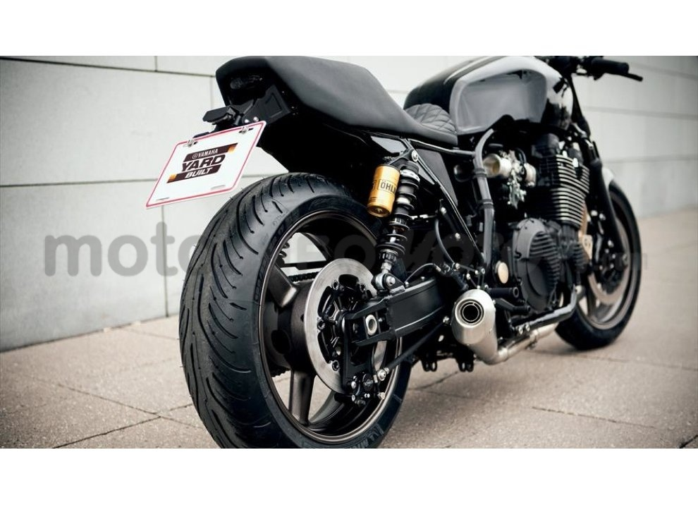 Yamaha Yard Built XJR 1300 Skullmonkee by Wrenchmokees - Foto 18 di 20