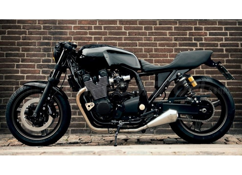 Yamaha Yard Built XJR 1300 Skullmonkee by Wrenchmokees