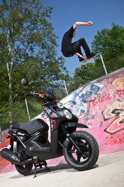 Yamaha BW's 125 – Test ride - Foto 14 di 27