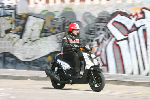 Yamaha BW's 125 – Test ride - Foto 16 di 27