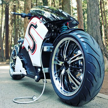 ZecOO Electric Motorcycle - Foto 7 di 17