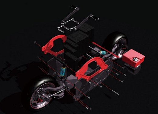ZecOO Electric Motorcycle - Foto 9 di 17