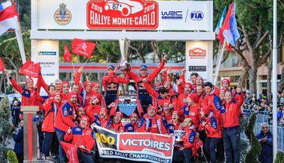 WRC Monte Carlo 2019: le dichiarazioni del team Citroën a fine gara