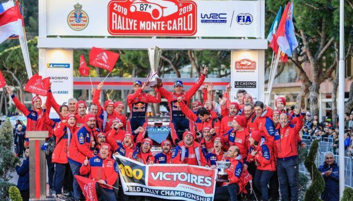 WRC Monte Carlo 2019: le dichiarazioni del team Citroën a fine gara - Foto  di
