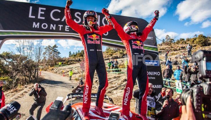 WRC Monte Carlo 2019: vince Citroën con la C3 WRC di Ogier – Ingrassia - Foto 4 di 4